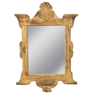 Four 19th Century Trompe l'Oeil Mirrors For Sale