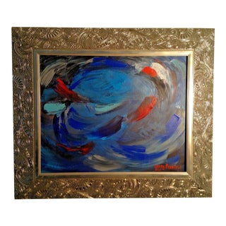 """Original 2010 """"Windstorm"""" Acrylic Painting by Jerry Penacoli For Sale"""