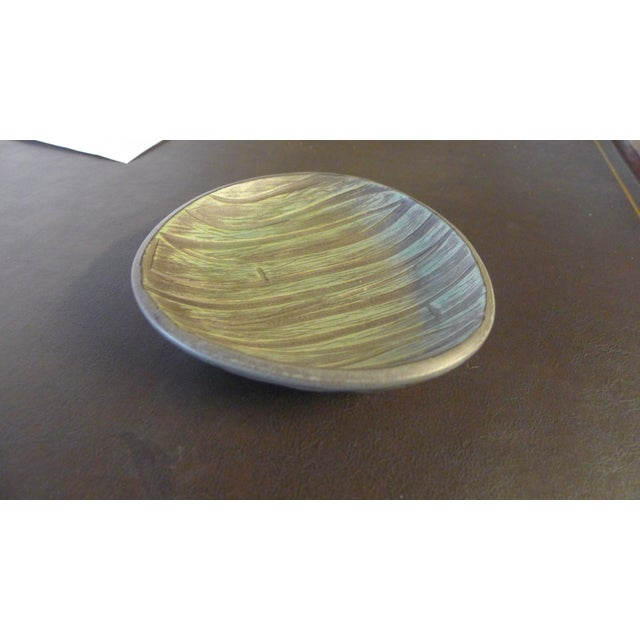 Boho Chic Mid-Century Danish Ceramic Bowl For Sale - Image 3 of 7
