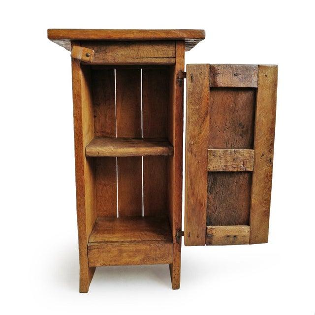 Vintage Mesquite Side Cabinet For Sale - Image 4 of 7