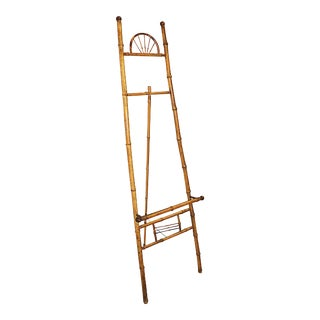 Antique Bamboo Easel For Sale