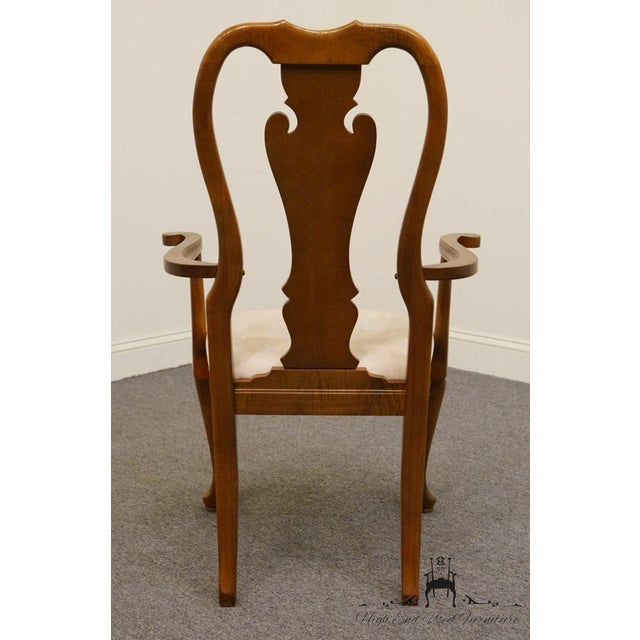 Thomasville Furniture Winston Court Collection Queen Anne Dining Arm Chair For Sale In Kansas City - Image 6 of 9