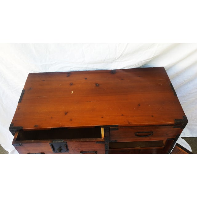 Korean Camphor Wood Cabinet - Image 7 of 11