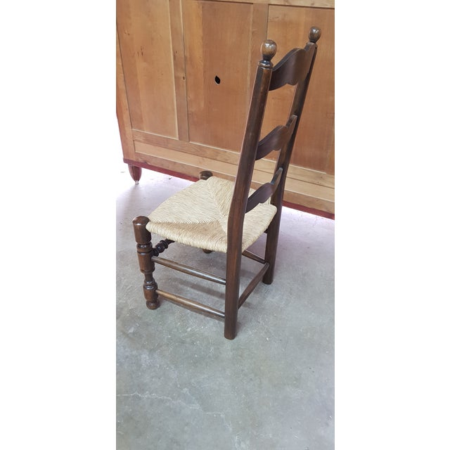 1900s Vintage Provencal Dining Chairs- Set of 4 For Sale - Image 4 of 10