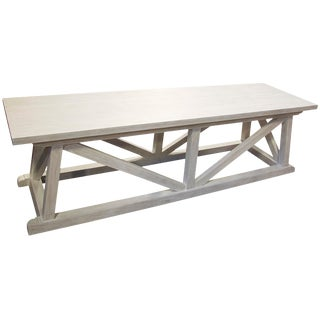 Sutton Bench, White Wash For Sale
