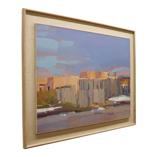 Sign Mick Shimonek. Oil on Canvas For Sale