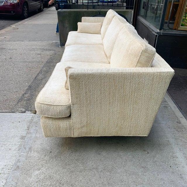 Mid-Century Modern Edward Wormley Three Seat Sofa for Dunbar For Sale - Image 3 of 10