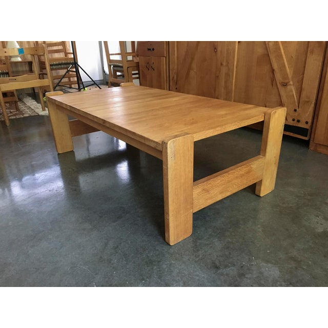 Danish Modern Wooden Coffee Table - Image 3 of 7