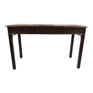 1990s Chippendale Drexel Console For Sale