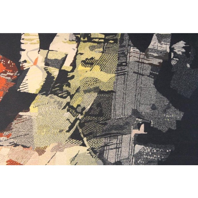 "Fabric Large Tapestry by Mathieu Matégot ""Fiction"" For Sale - Image 7 of 10"