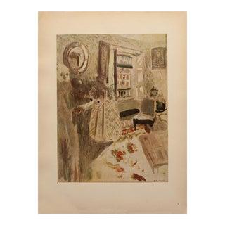 """1948 After Édouard Vuillard """"The Flag"""" Vintage Parisian Print For Sale"""
