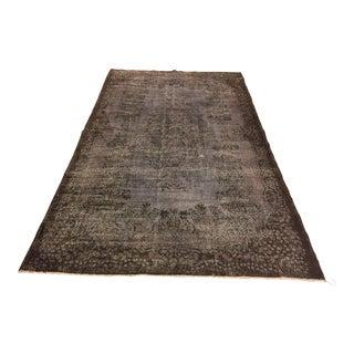 "Vintage Gray Handmade Area Rug - 5'10"" x 10'1"""