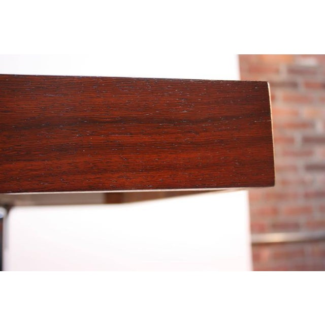1960s Poul Nørreklit Low Rosewood Extension Table for Georg Petersens For Sale - Image 5 of 10