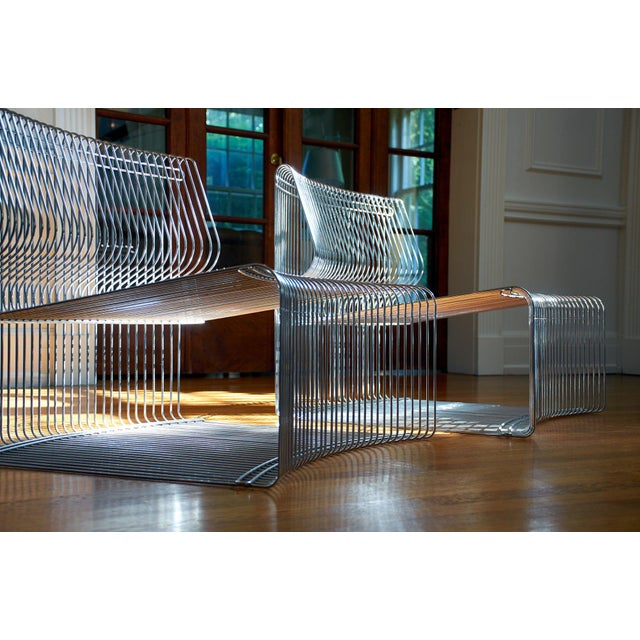 Danish Modern Verner Panton for Fritz Hansen Pantonova Chairs C. 1971 - a Pair For Sale - Image 3 of 8