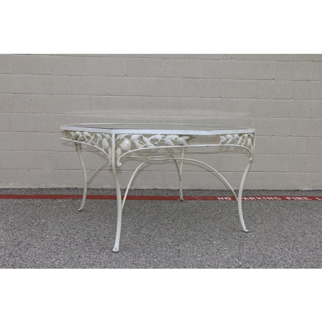 Metal Metal Fruit Accent Patio Set - Set of 5 For Sale - Image 7 of 13