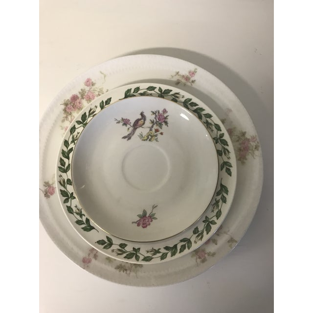 1900s Vintage Fine China Table Setting For Sale - Image 5 of 10