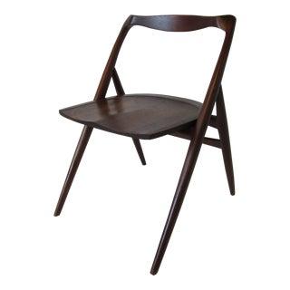 Studio Crafted Walnut Chair by George Suyeoka