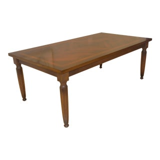 Traditional Italian Wooden Dining Table For Sale