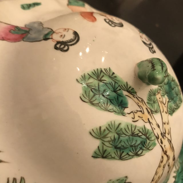 Mid 19th Century Chinese Famillie Ginger Jar For Sale In New Orleans - Image 6 of 8