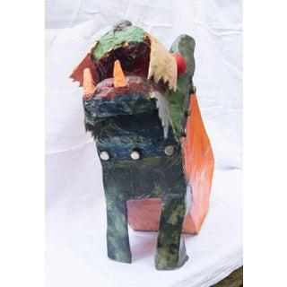 Seymour Chwast Paper Mache Dog Sculpture Preview