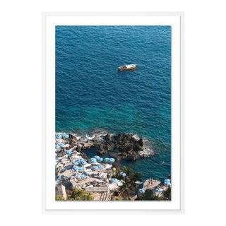La Fontelina by Natalie Obradovich in White Framed Paper, Large Art Print For Sale