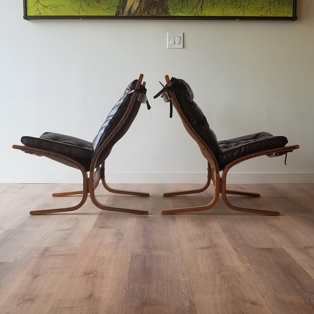 Mid-Century Modern 1970s Vintage Ingmar Relling Siesta Chairs for Westnofa - 3 Pieces For Sale - Image 3 of 13