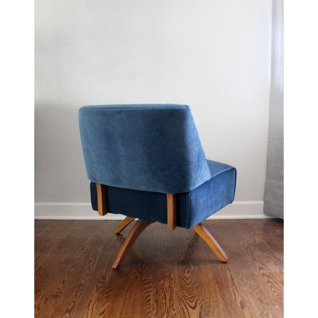 Vintage Mid Century Modern Accent Chair - Image 5 of 9