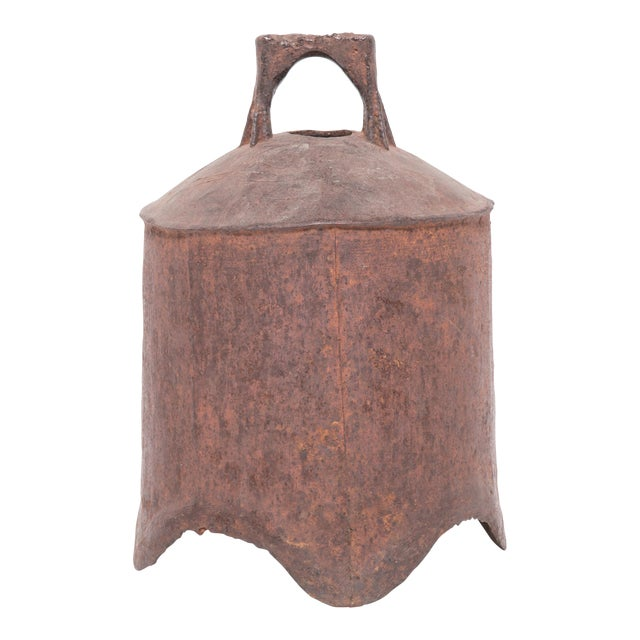 19th Century Provincial Chinese Iron Bell For Sale