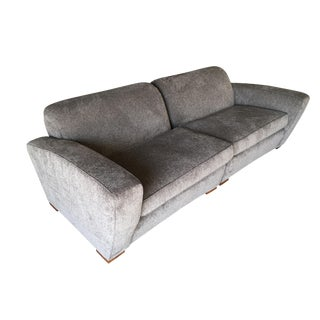 Paul Frankl Art Deco Speed Sectional Sofa, Circa 1940 For Sale