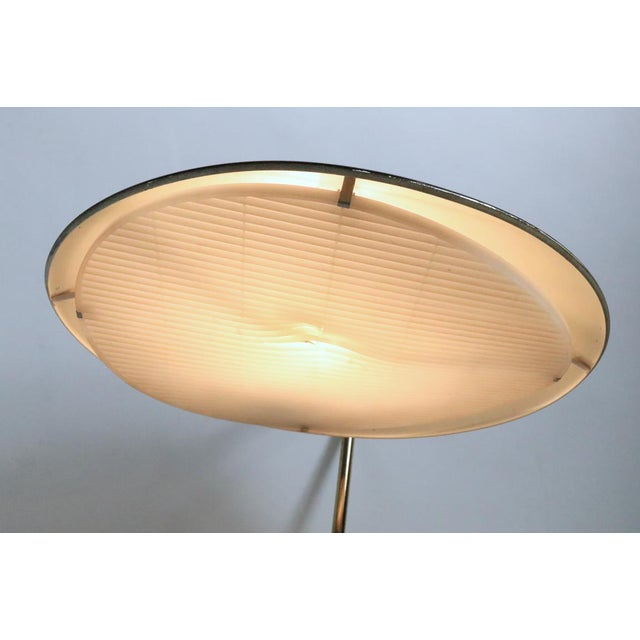 Lightolier Mid Century Disk Lamp by Thurston for Lightolier For Sale - Image 4 of 10