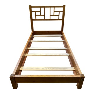 Twin Size Thomas Moser New Century China Bed Frame For Sale