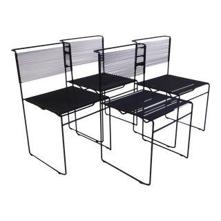 Four Spaghetti Chairs by Giandomenico Belotti for FlyLine, Italy