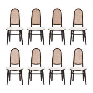 Set of Eight Edward Wormley Dining Chairs For Sale