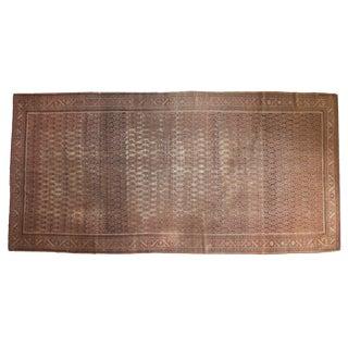 "Antique Malayer Carpet - 6'3"" X 13'"