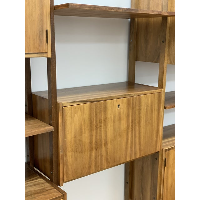 Mid Century Vintage Wall Unit For Sale In Los Angeles - Image 6 of 13