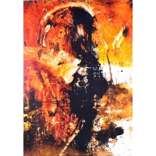 Michael Leah Keck Abstract Giclee Print - Image 1 of 7