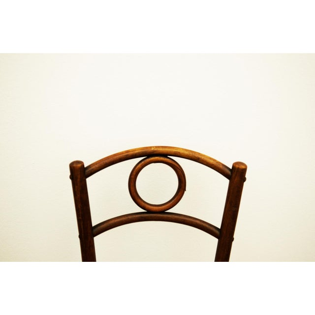 Thonet Austrian bentwood chair For Sale - Image 4 of 11