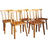 "Image of 10 ""Uto"" Chairs by Axel Einar Hjorth For Sale"