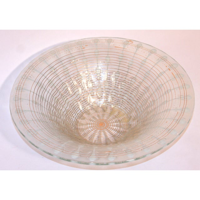 Murano Style Glass Bowl - Image 4 of 5
