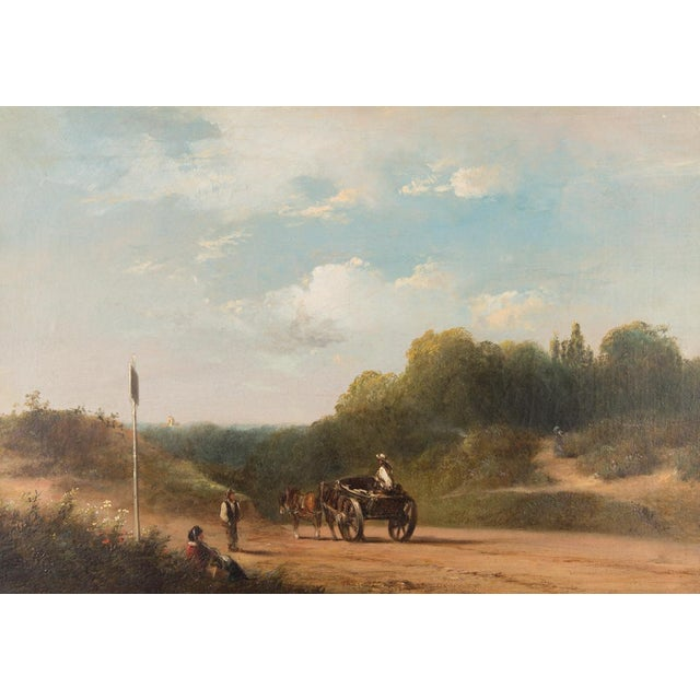 English Traditional 19th-C. Sussex Landscape by E. J. Niemann For Sale - Image 3 of 10