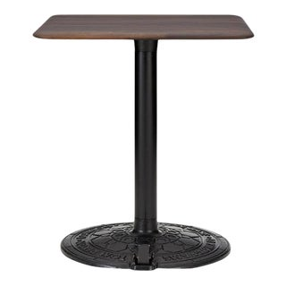 Tom Dixon Roll Base With 650mm Fumed Oak Top For Sale
