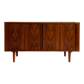 Poul Hundevad Mid Century Modern Rosewood Credenza For Sale