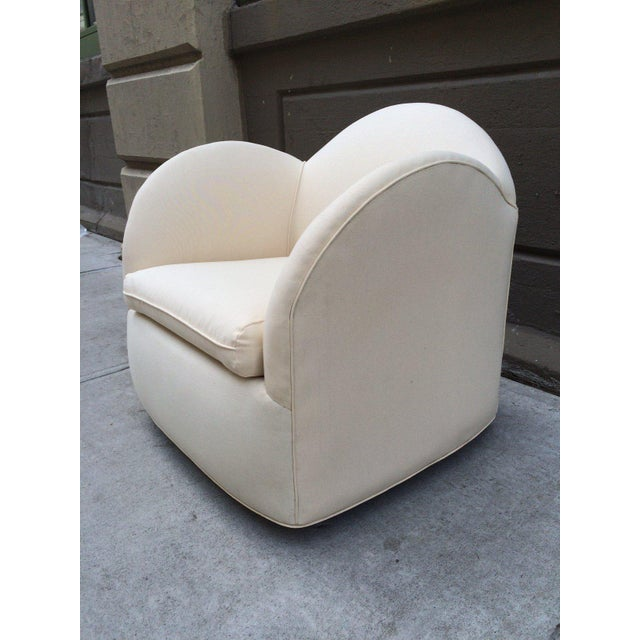 Art Deco Pair of Art Deco Swivel Chairs For Sale - Image 3 of 5