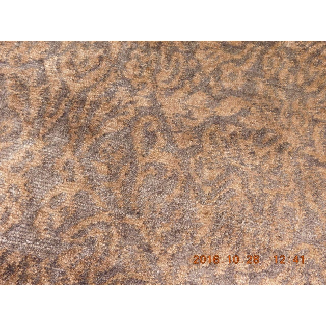 """Contemporary Hand-Knotted Luxury Rug - 8' x 10'2"""" For Sale - Image 10 of 10"""
