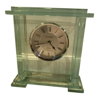 Danbury Glass Mantel Clock