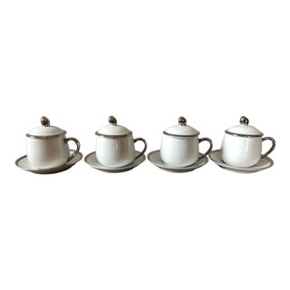 Vintage Georg Jensen Pots de Creme - Set of 4