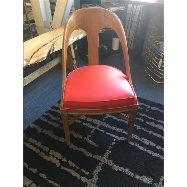 Vintage Mid-Century Modern Teak Chair - Image 2 of 9