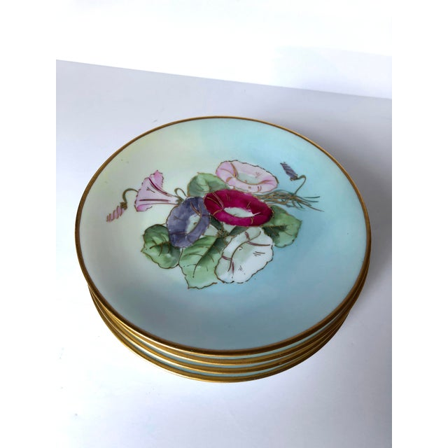Late 18th Century 19th Century Limoges Plates - Set of 5 For Sale - Image 5 of 6