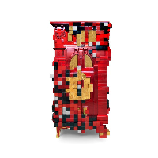 Not Yet Made - Made To Order Piccadilly Cabinet From Covet Paris For Sale - Image 5 of 7
