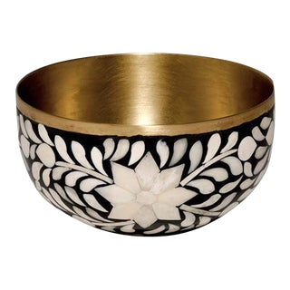 Imperial Beauty Black & White Bowl